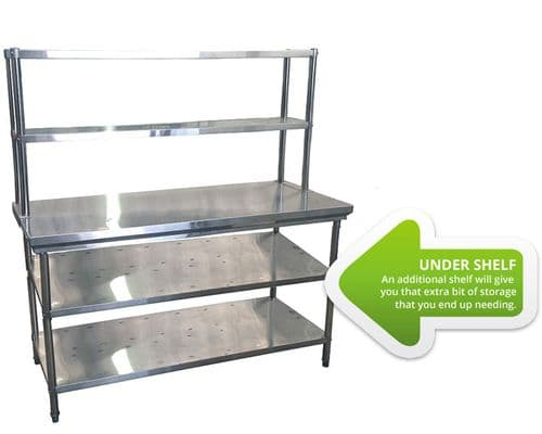 Extra Undershelf for 2100mm Table