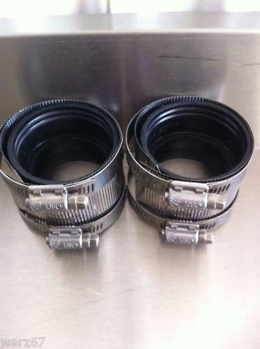 Grease Trap Couplings - 50mm (2 Pack)