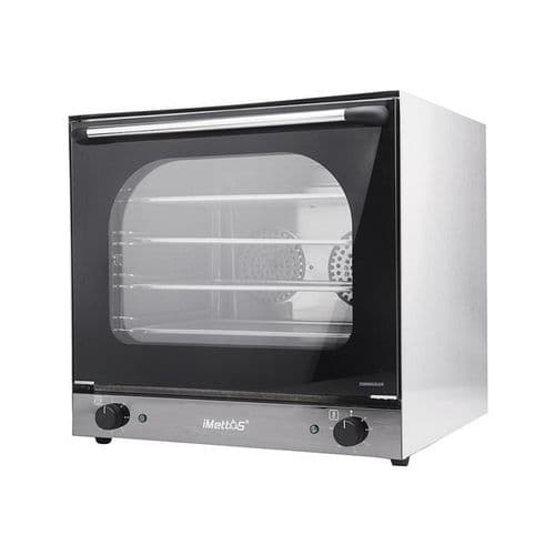 iMettos Convection Oven 62 Ltr with Enamelled Chamber Twin Fan - 101009