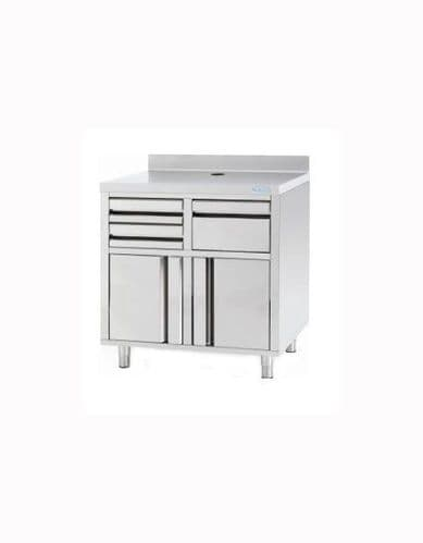 Infrico Stainless Steel Back Bar Coffee Unit - MCAF820