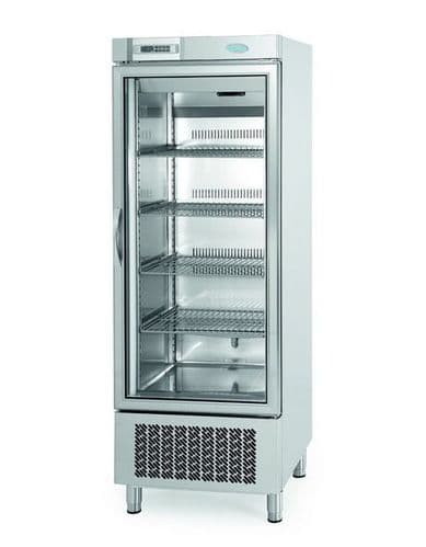 Infrico Upright Stainless Steel Freezer with Glass Door - AN501BTCR