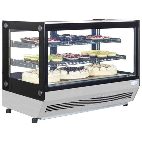 Interlevin Chilled Counter Top Display Stainless Steel - LCT750F