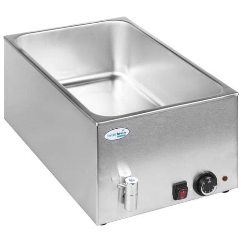 Interlevin Wet Well Bain Marie With Tap - BM8710