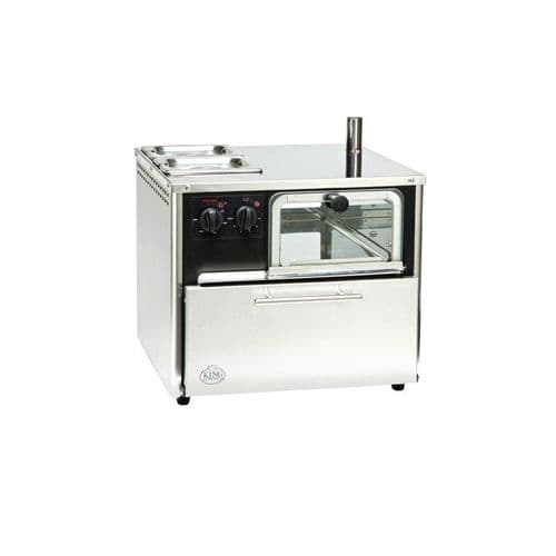 King Edward Compact Lite Oven Stainless Steel COMPLITE/SS - GP271
