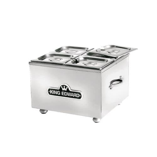 King Edward Small Bain Marie Stainless Steel BM1V/SS - GP274