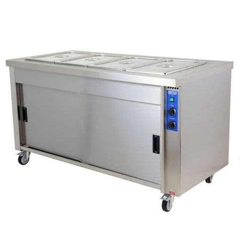 Moffat HB5E Stainless Steel Eco Hot Cupboard With Bain Marie  5 x 1/1GN