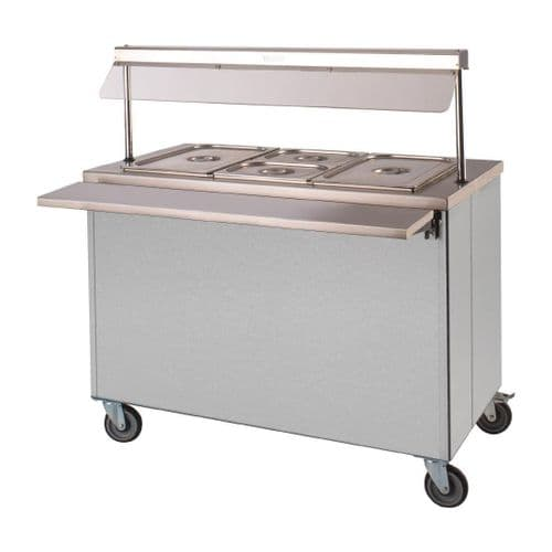 Moffat Mobile Hot Cupboard with Dry Heat Bain Marie 3FBM - DT596