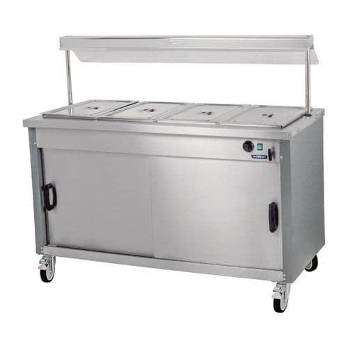 Moffat Mobile Hot Cupboard with Dry Heat Bain Marie 4FBM - DT597