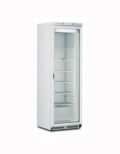 Mondial-Elite Upright White Freezer with Glass Door - ICEN40