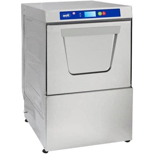Ozti Digital Undercounter 400mm Basket Glasswasher with Drain Pump
