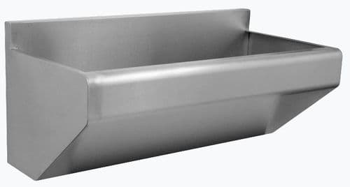 Parry Stainless Steel Scrub Sink - SCRUB1800