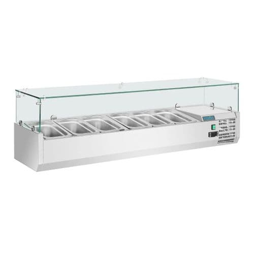 Polar Refrigerated Servery Topper 6 GN - GD876