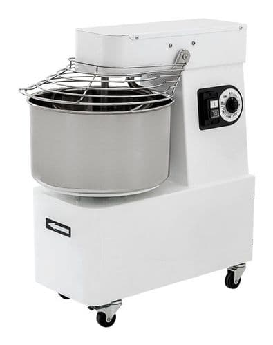 Prismafood Heavy Duty Spiral Mixer Variable Speed 48 Litre / 42Kg Capacity - IBV50