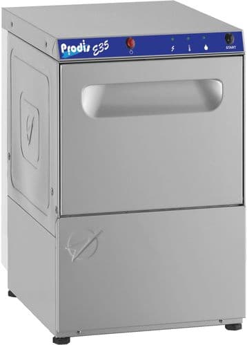 Prodis E35 350mm basket gravity drain glasswasher