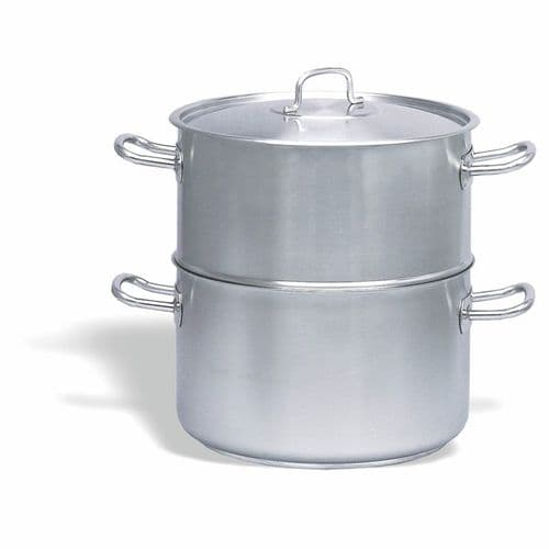 Pujadas INOX-PRO Stainless Steel Steam Pot with Lid - 244024
