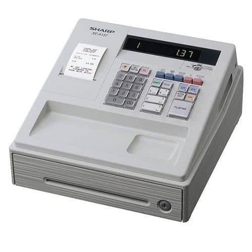 SHARP Cash Register - XE-A137 White