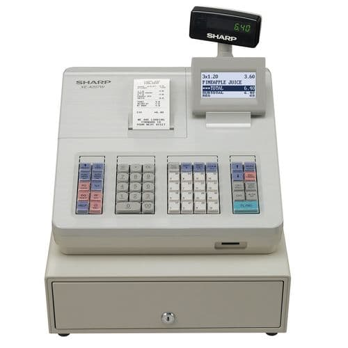 SHARP Cash Register - XE-A207 White CE057