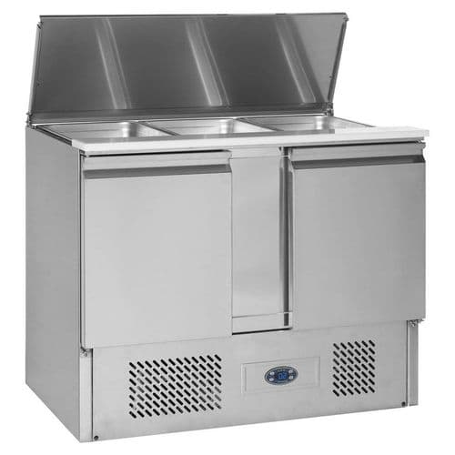 Tefcold Gastronorm Saladette Counter - SA1045
