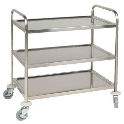 Vogue 3 Tier Clearing Trolley Large - F995