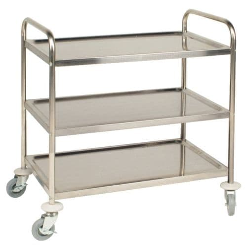 Vogue 3 Tier Clearing Trolley Medium - F994