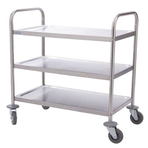 Vogue 3 Tier Clearing Trolley Small - F993
