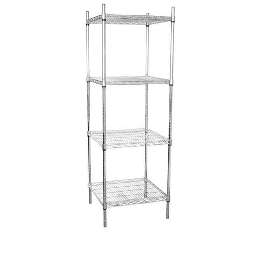 Vogue 4 Tier Wire Tower Unit - U884