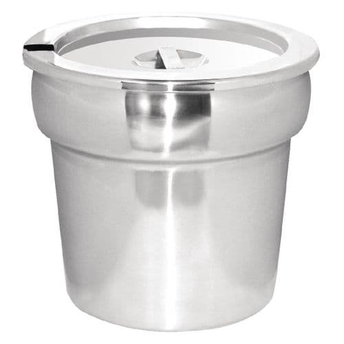 Vogue Bain Marie Pot and Lid - G515