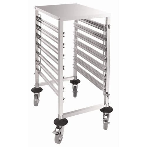Vogue Gastronorm Racking Trolley 7 Level - GG498