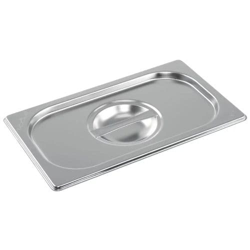 Vogue Stainless Steel 1/4 Gastronorm Lid - K972