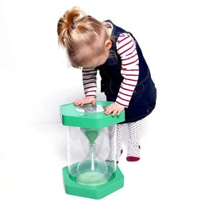 Giant,Sand,Timer,Stool,1,Minute,sensory toys,warehouse clearance discount,sensory bubble timer,bubble liquid timer,sen timer,special needs timers