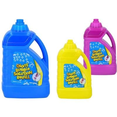 1.8 Litre Giant Bubble Solution Refill With Funnel,bubble liquid solution,Sensory blowing bubbles,blowing bubbles for kids with Special Needs Toys,Bubble blowing toys,tub of magic bubbles