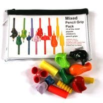 12 Pack Mixed pencil grip pack