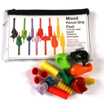 12 Pack Mixed pencil grip pack,Pencil Grip Kit Pack,Pencil Grip Pencil Grip Selection Box,Special needs pencil grips,pencil grippers,special needs pencil toppers,pencil toppers,special needs pencil writing grips