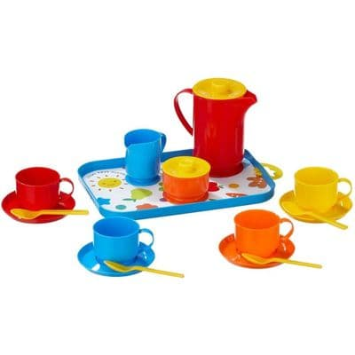 18 Piece Coffee Service Pretend play,pretend play kitchen toys,kitchen toys,pretend play household,children's imaginative play ideas