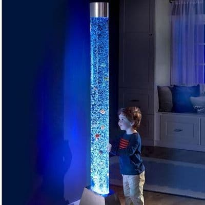 large bubble tube,sensory bubble tube,bubble tubes,2 metre bubble tube,cheap bubble tubes,sensory bubble light,sensory bubble lamp,bubble fish lamp,sensory fish lamp,6ft bubble tube