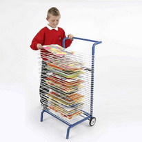 20 Shelf Mobile Drying Rack