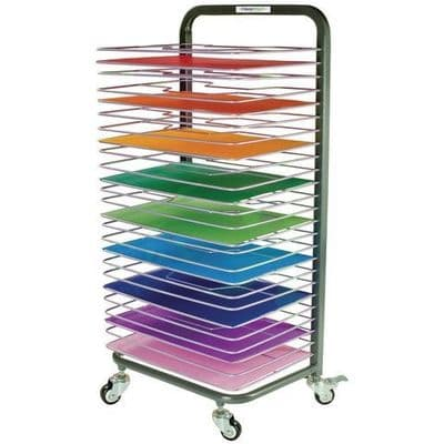 25 Shelf Mobile Drying Rack Double Sided,Mobile Drying Rack Double Sided,Art drying rack,large art drying rack,double sided drying rack