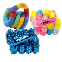 3 Pack Assorted Tangle Fidget Toys