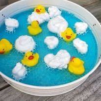 3 Pack Squirting Baby Bath Toys Ducks