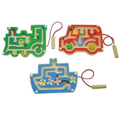 3 Pack Wooden Magnetic Labyrinth,Wooden LABYRINTH toy game,TTS education discount.tts school discount,tts discount code,tts school supplies,tts discount,tts schools