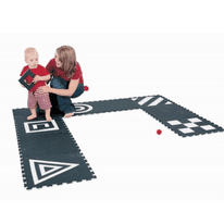 3D Creative Black And White Mats