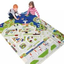 3D Mini City Play Rug
