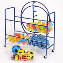 4 Basket Sport Trolley