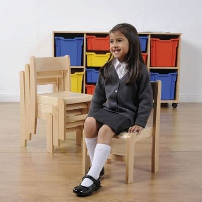 4 Pack  Stackable Classroom Chairs Beech H310mm, classroom chairs,classroom chairs,classroom seats,classroom seats and tables,classroom chairs,classroom chairs primary school,primary school classroom chair furniture