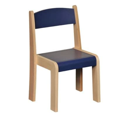 4 Pack  Stackable Classroom Chairs Blue H260mm,classroom chairs,classroom seats,classroom seats and tables,classroom chairs,classroom chairs primary school,primary school classroom chair furniture