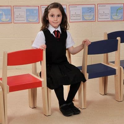 4 Pack  Stackable Classroom Chairs Orange H260mm,classroom chairs,classroom seats,classroom seats and tables,classroom chairs,classroom chairs primary school,primary school classroom chair furniture