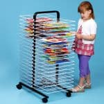 40 Large Shelf Mobile Drying Rack