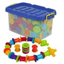 420 Piece Button and Bobbins Lacing Rolling Set