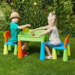 5-in-1 Multi-Purpose Table and Chair Set Multi Colour