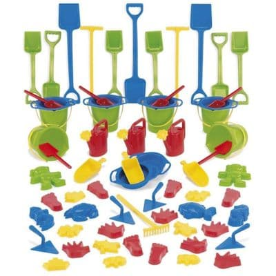 66 Piece Sand and Water Set,Sand and Water Set,childrens water tray table,childrens sand and water tray table,school water table,sensory play table